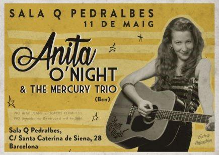 ANITA O'NIGHT & THE MERCURY TRIO